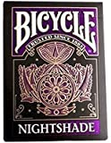 Bicycle Nightshade Deck of Playing Cards Extremely Rare