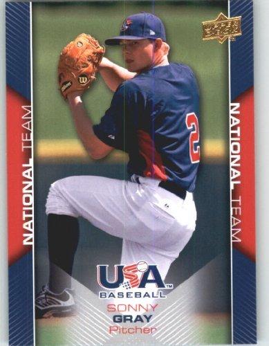 Upper Deck Usa Rookie Baseball - 2009 Upper Deck USA Baseball Rookie Card #USA-9 Team USA