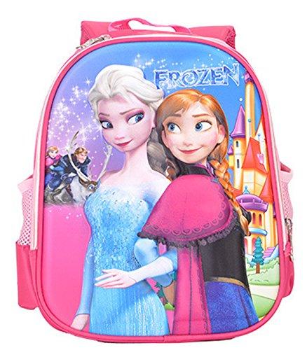 Frozen Free Fall Picture Cartoon Girls Shoulders Bag for School Kids