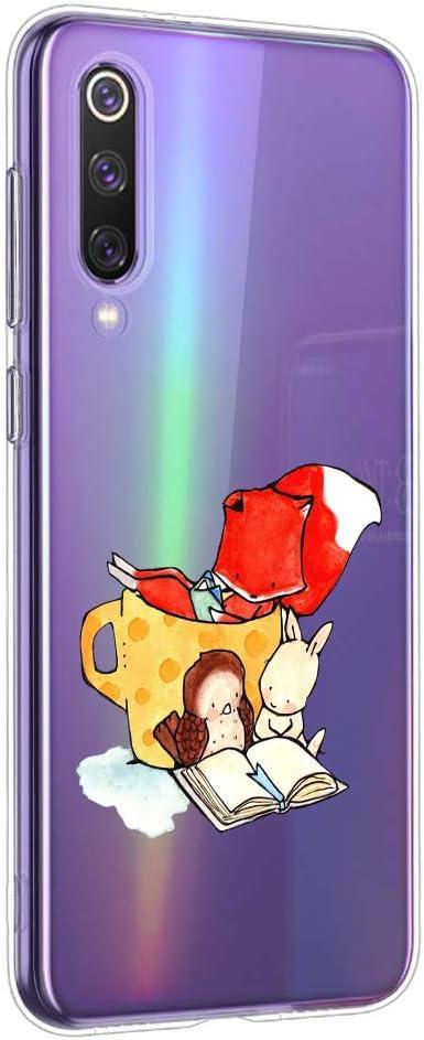 Carcasa Transparente Ultrafina Suhctup Funda para Xiaomi Redmi 8 Protecci/ón Anti Choques y Ca/ídas Suave Soft,Funda Anti Ara/ñazos Dise/ño de Dibujos Animados Compatible con Xiaomi Redmi 8