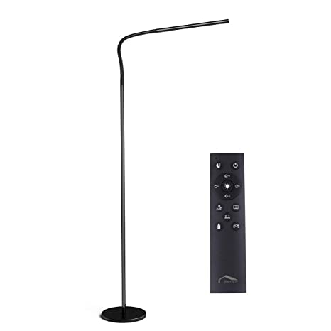 Joly Joy Floor Lamps For Living Room, 12W Dimmable Flexible Gooseneck Standing  Lamp, Reading Light With ...