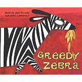 African Animal Tales: Greedy Zebra by Mwenye Hadithi (Illustrated, 1 Apr 1984) Paperback
