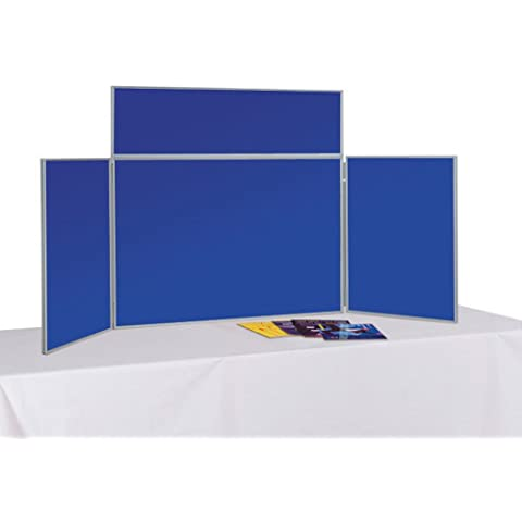 Exhibition Booth Header : Tabletop folding exhibition display board large panel header