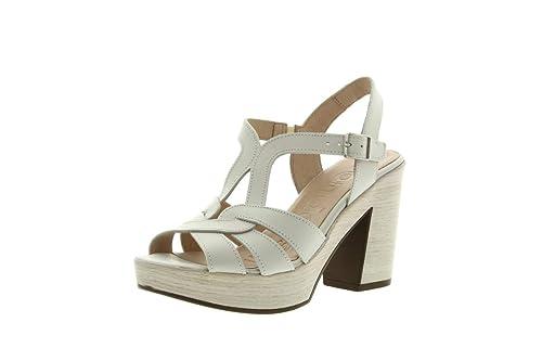 9154 L NuovoAmazon Borse Sandali Donna E Bianco Wonders itScarpe EHID29YW