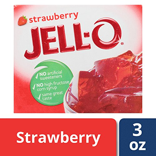 strawberry jello mix - 3