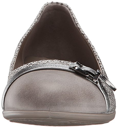 15 59260 moon Touch Donna Moon Alusilver Ballerine Rock Beige ECCO Rock 5vqZ4