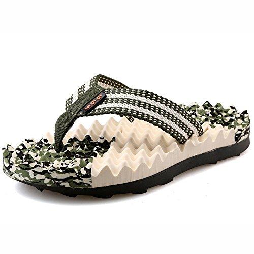 EU40 l'eau imperméables Couleur Beach A CN41 pantoufles B à chaussures taille Toes Clip Too UK7 Pool ZHANGRONG Bnw0OzOq