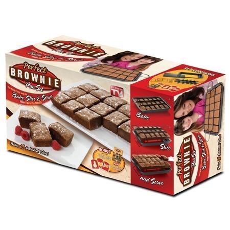 Perfect Brownie Pan Set -