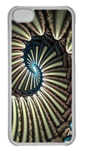 Abstract Stripes Polycarbonate Hard Case Cover for iphone 5s Transparent