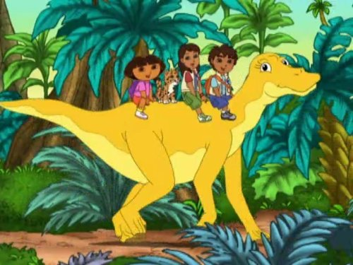 Diego's Great Dinosaur Rescue (Baby Dinosaur Cartoon)