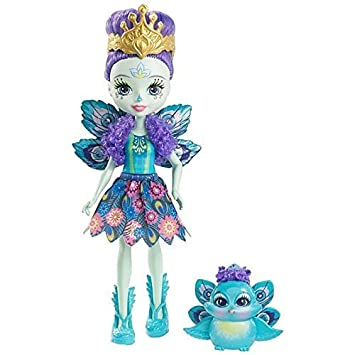 Enchantimals Muñeca Pippa Peacock (Mattel DYC76)