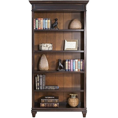 Martin Furniture Hartford Bookcase, Brown - Fully Assembled