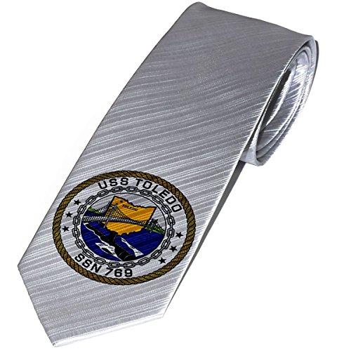 Necktie / Tie with U.S. Navy USS Toledo (SSN-769), submarine - 769 Us