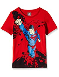 Puma Puma-Fun Superman Tee Playera para Niños