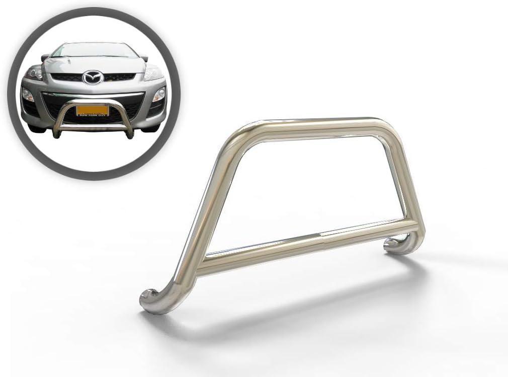 To Fit Mazda CX 7 2007-2014 Chrome Rear Bumper Protector Scratch Guard S.Steel