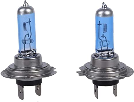 2x Car H7 Warm White Headlight Xenon Halogen Globes Light Lamp Bulbs 55W 12V CA