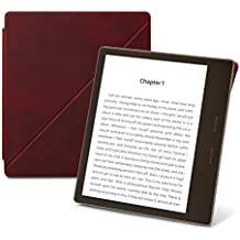 Kindle Oasis Premium Leather Standing Cover, Merlot –9th generation  (2017) release
