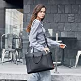 CLUCI Briefcase for Women Leather Slim 15.6 Inch
