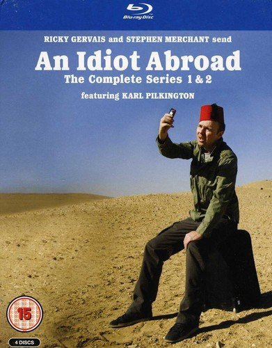 Idiot Abroad: Box Set Series 1 & 2 [Blu-ray] (Ship Abroad)