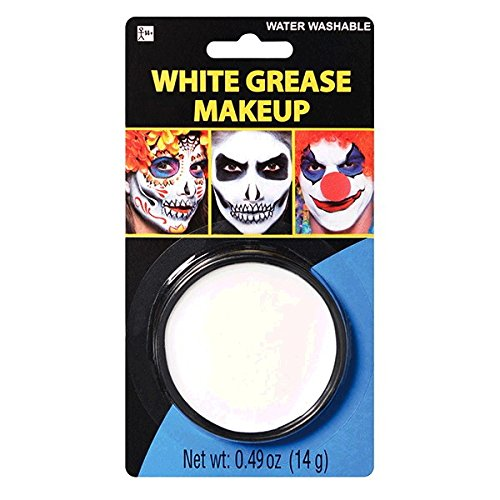 amscan Face Paint - White Grease]()