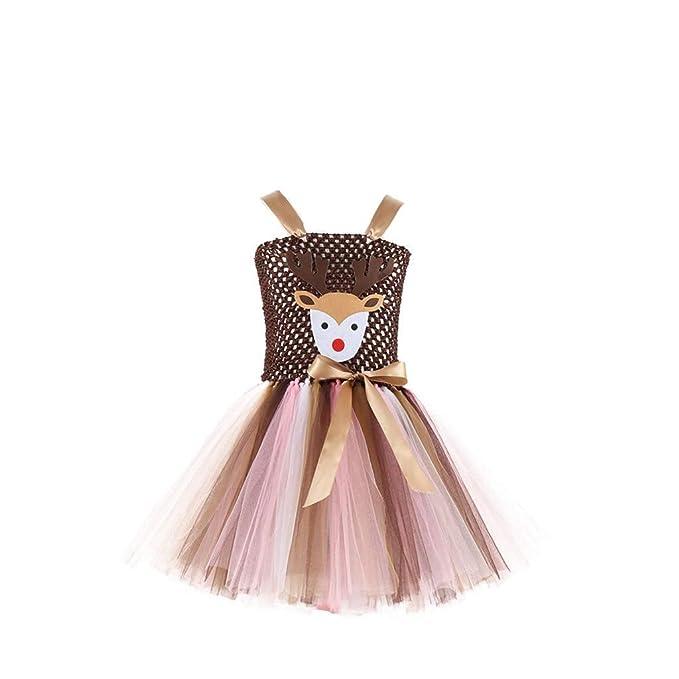 Vestido de Fiesta para Niñas Vestido de Bautizo Fiesta Niña ...