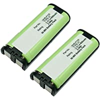 2pcs Exell Cordless Phone Battery Replaces HHR-P105, HHR-P105A/1B, TYPE 31, CPH-508