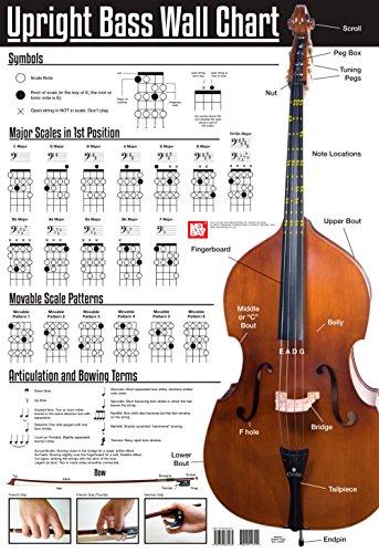 (Mel Bay Upright Bass Wall Chart)