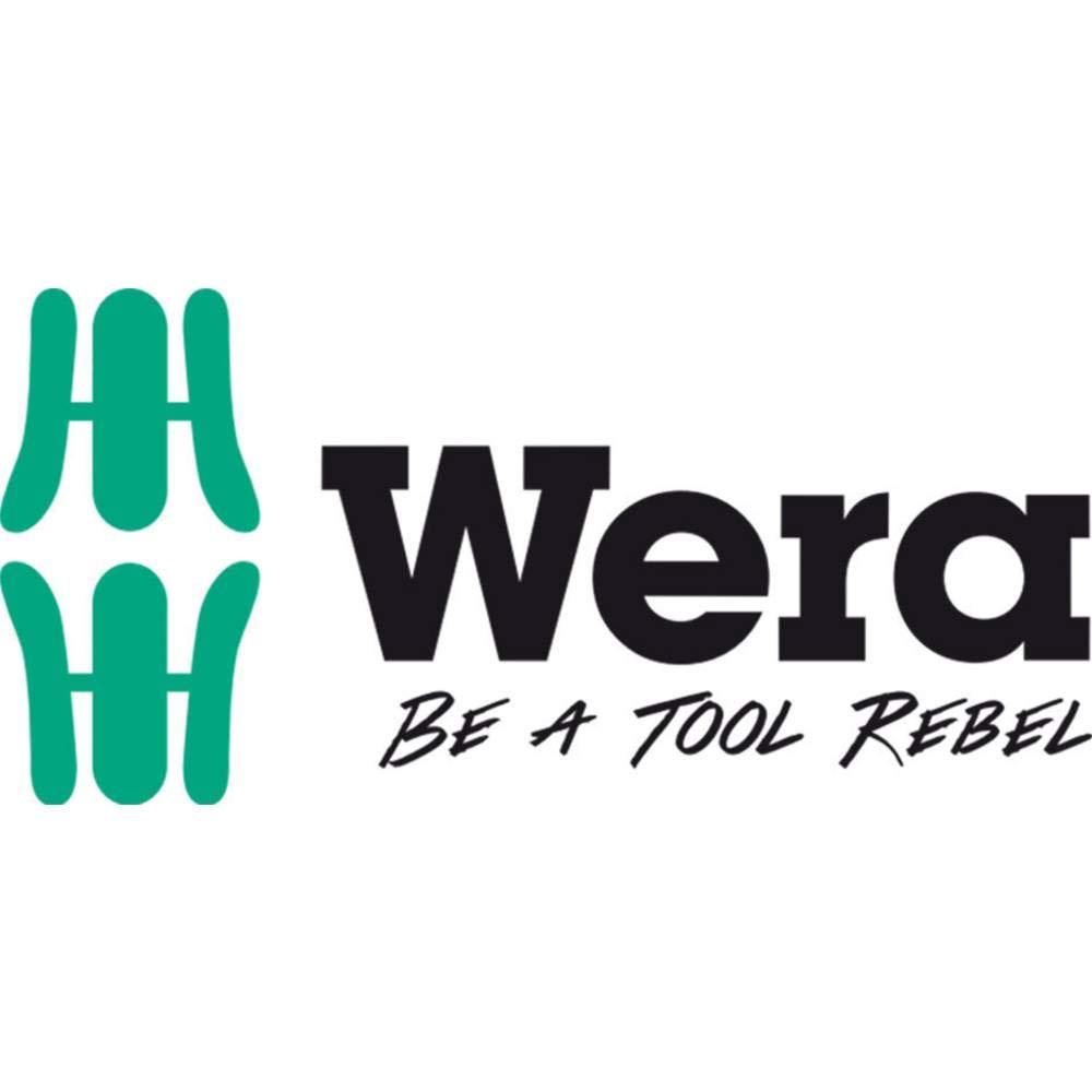 Wera 05670447001/Bandes Velcro Lot de 2/50/x 120/mm