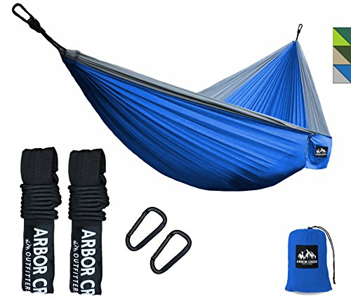 Double Camping Hammock by Arbor Creek Outfitters | Best Hammock