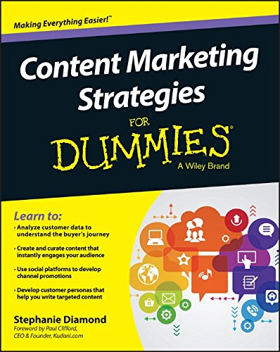 Book Cover: Content Marketing Strategies For Dummies