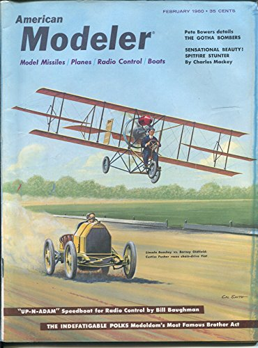- American Modeler 2/1960-Barney Oldfield-Cal Smith-model missiles-planes-boats-FN