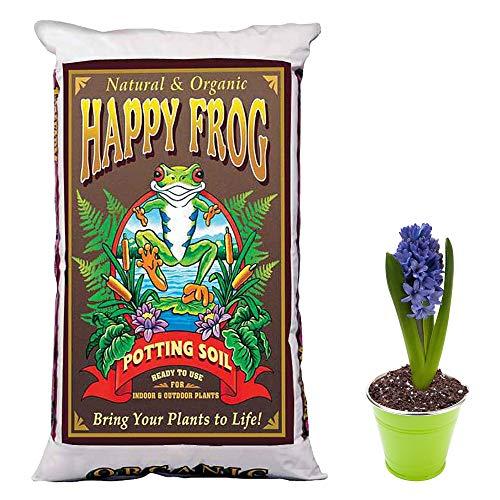 - FoxFarm Happy Frog Nutrient Rich Rapid Growth Potting Soil, 4 Cu Feet | FX14081