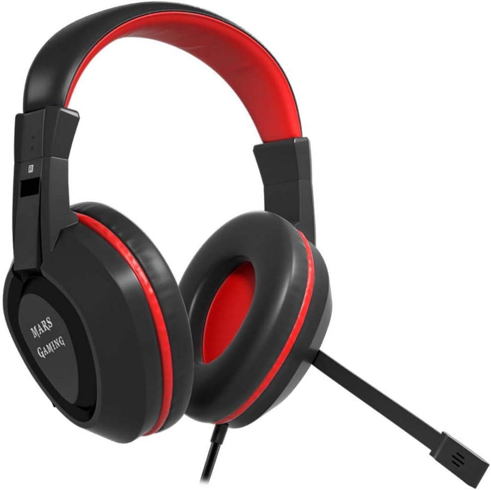 Mars Gaming Mah1v2 Gaming Kopfhörer Farbe Schwarz Computer Zubehör