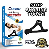 Snooze - Comfortable Anti Snoring Chin Strap - Natural Anti Snoring Devices! - Men and Women - ONE Size FITS All