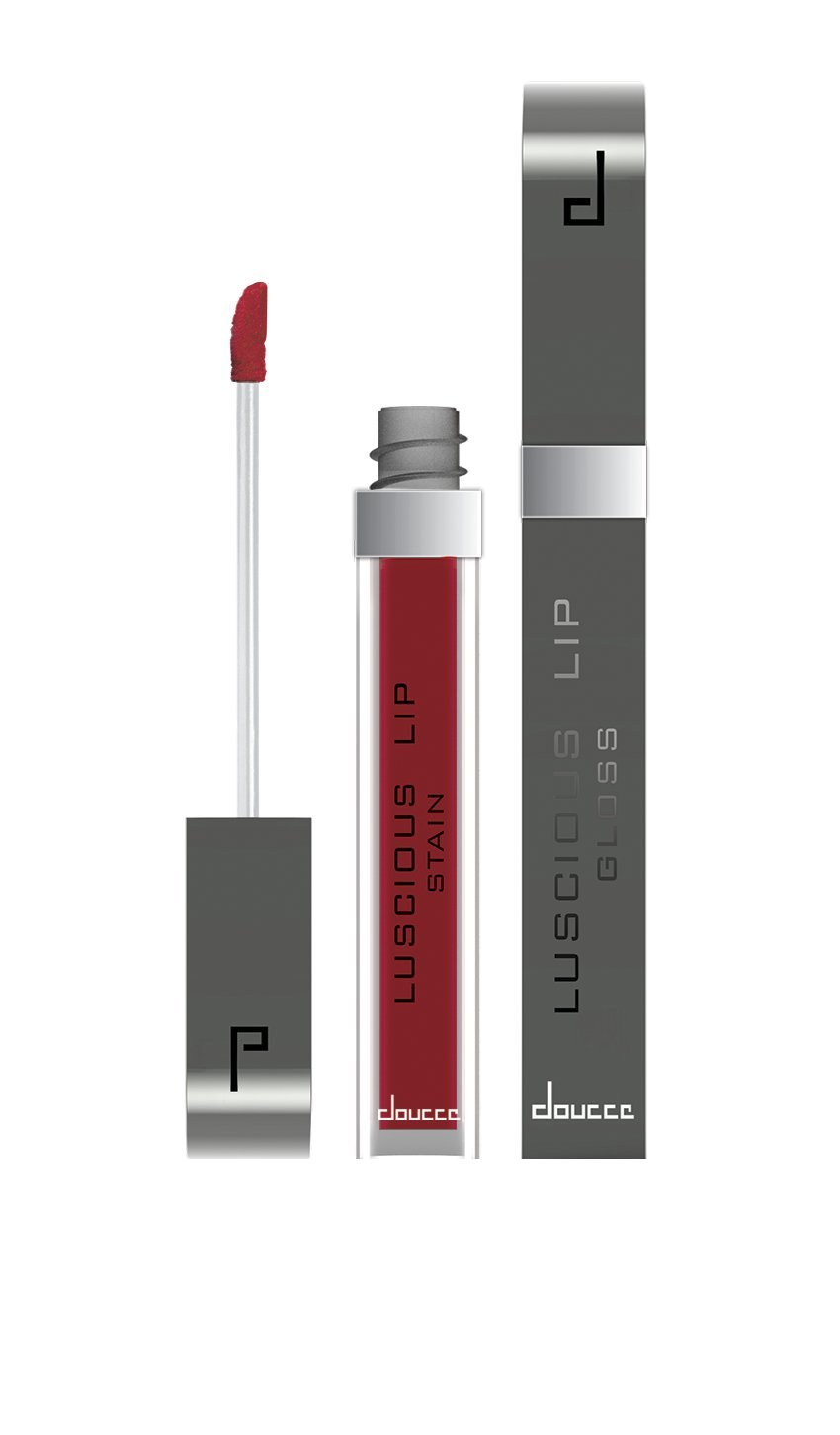 Doucce Luscious Lip Stain, Ruby Red, 6 Gram