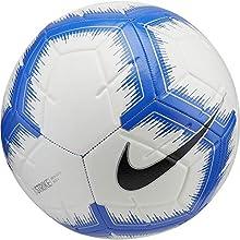 Nike Strike Soccer Ball (White/Light Blue, 3)