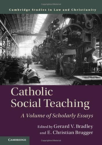 Catholic Social Teaching: A Volume of Scholarly Essays (Law and Christianity)