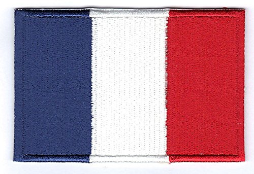 France Embroidered Country Flag Iron On Patch