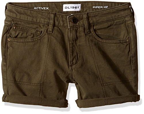 DL 1961 Big Girls' Piper Cuffed Short, Ranchers, 10 (Rancher Short)