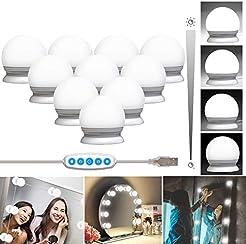 10 Bulbs Vanity Mirror Lights Hollywood ...