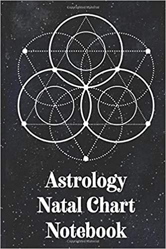 Amazon com: Astrology Natal Chart Notebook: Organizer For