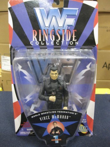 "WWF Ringside Collectable"" series 1 Vince McMahon by Jakks Pacific 1996"