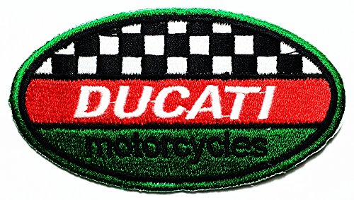 Ducati monster service Motorcycles Biker Racing Sport logo patch Jacket T-shirt Sew Iron on Patch Badge Embroidery -