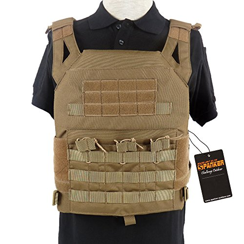 1. Excellent Elite Spanker Tactical Airsoft MOLLE Breathable JPG Vest