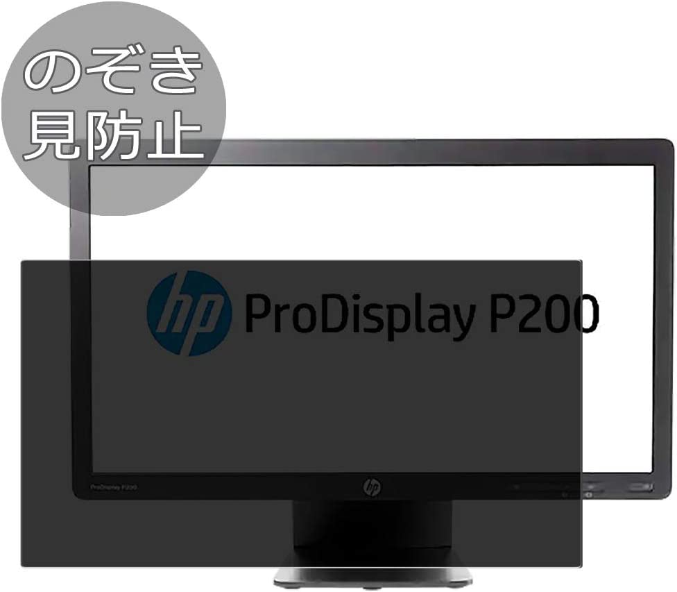 """Synvy Privacy Screen Protector Film for HP ProDisplay P200 19.5"""" Display Monitor Anti Spy Protective Protectors [Not Tempered Glass]"""