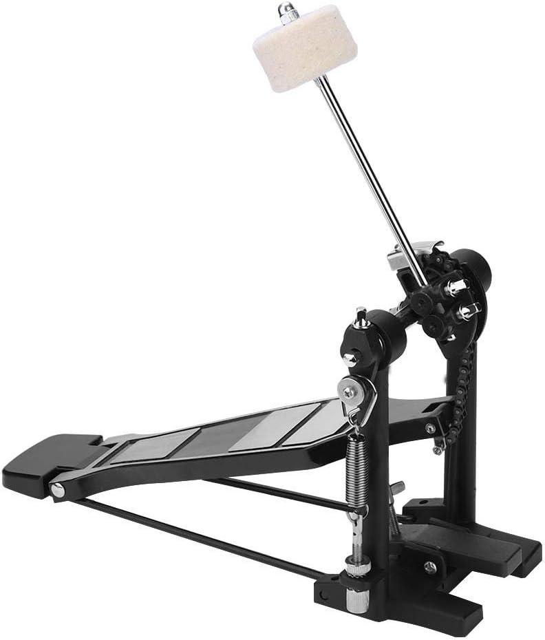 Universal Stable Flexible Convenient Portable Single Kick Bass Drum Pedal for Jazz Drum Kit Performance Pro Foot Kick Percussion Bass Drum Pedal Accessories Set Single Foot Kick Bass-Drum Pedals