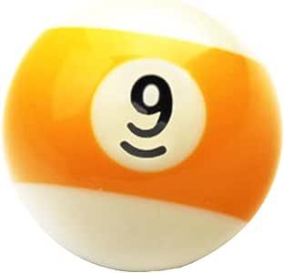 Black Temptation 1 PCS Cue Sport Snooker USA Pool Bolas de Billar 57.2 mm / 2-1/4 - NO.9: Amazon.es: Deportes y aire libre