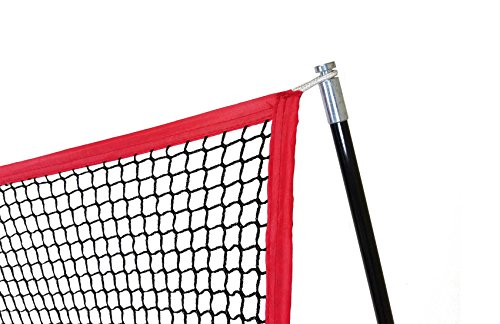 Large 10 X 7 Portable Golf Net - Great for year around golf practice - Can be used to hit balls indoors or outdoors. Large hitting area to catch all golf shots by Sport Nets (Image #2)