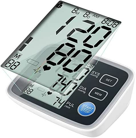Blood Pressure Monitor Automatic Digital BP Machine Pulse Rate Monitoring Meter