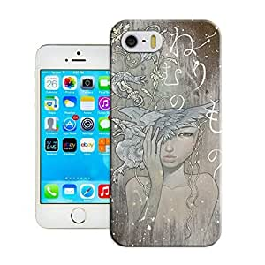 LarryToliver Fashion Customizable Art on wood Mobile Phone Case for iphone 5/5s Cover